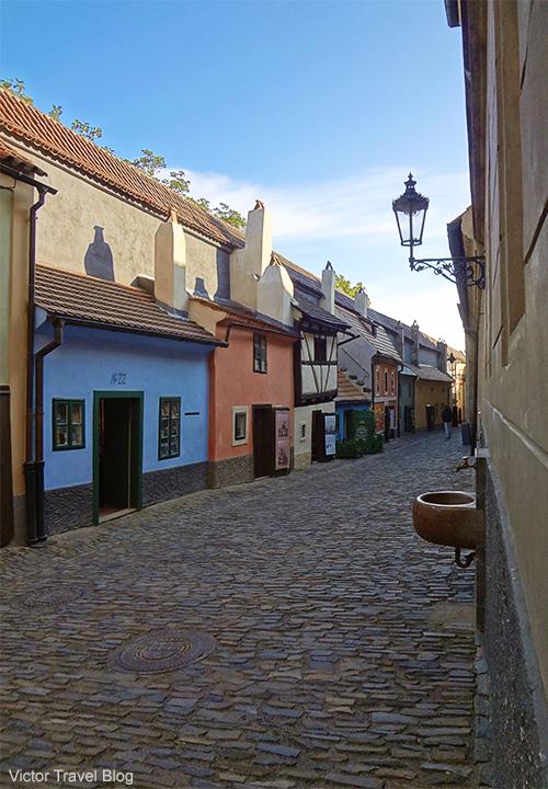 Zlata Ulicka. Prague. Czech Republic.