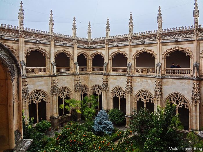 Cathedral garden. Toledo, Spain.