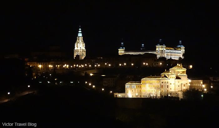 Toledo at night. Spain.