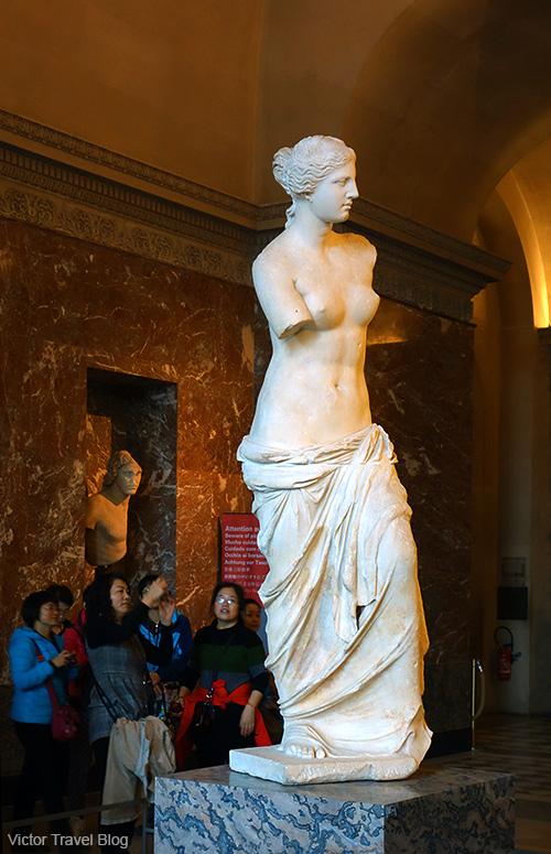 Venus de Milo. Louvre Museum, Paris, France.