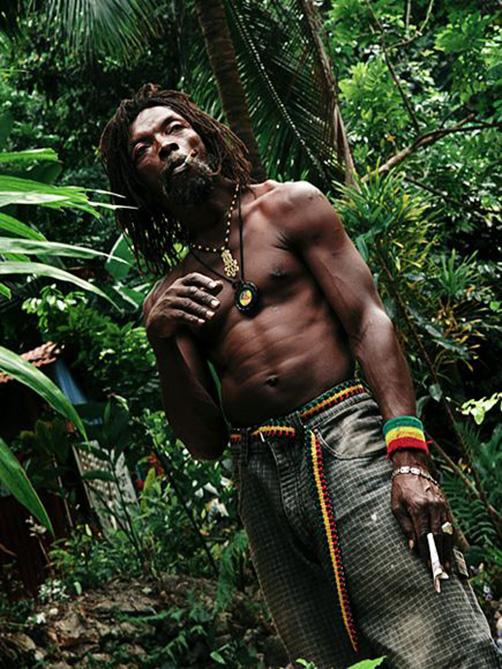 Local resident. Jamaica.