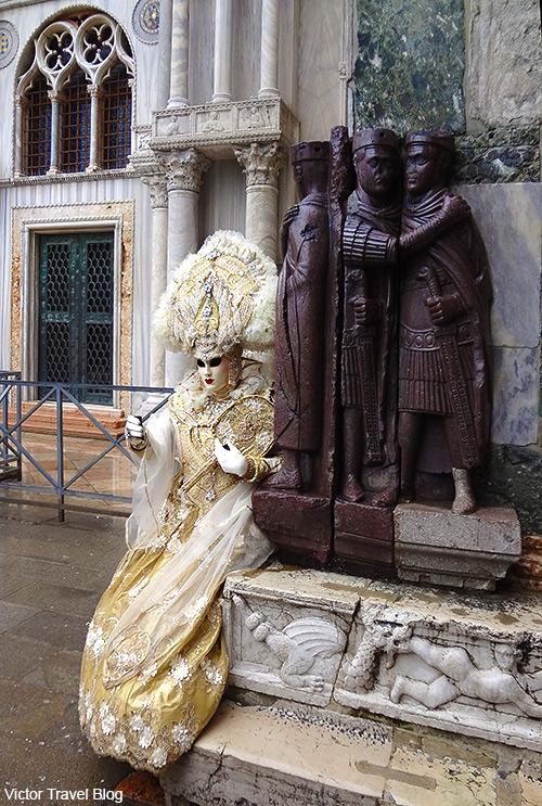 Venetian mask. Venice Carnival. Italy.