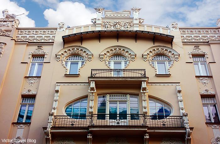 Albert Street, 4. Art Nouveau Buildings in Riga, Latvia.