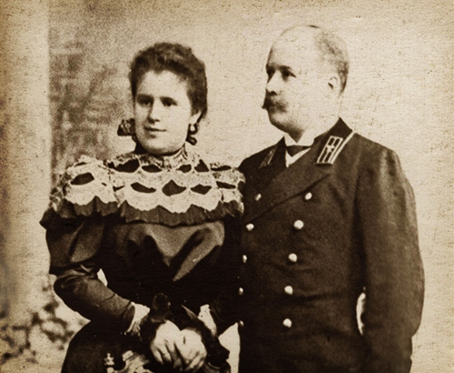 Mikhail and Julia Eisenstein