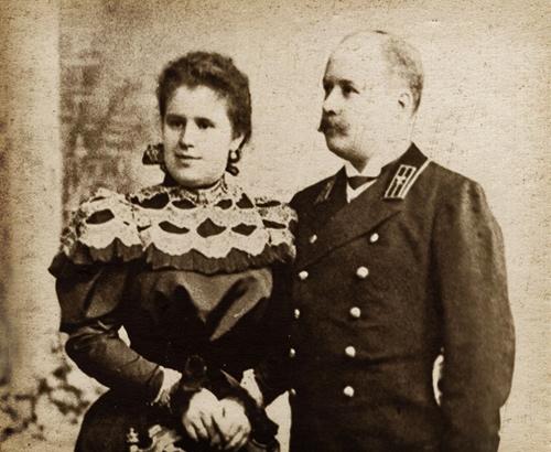 Mikhail and Julia Eisenstein