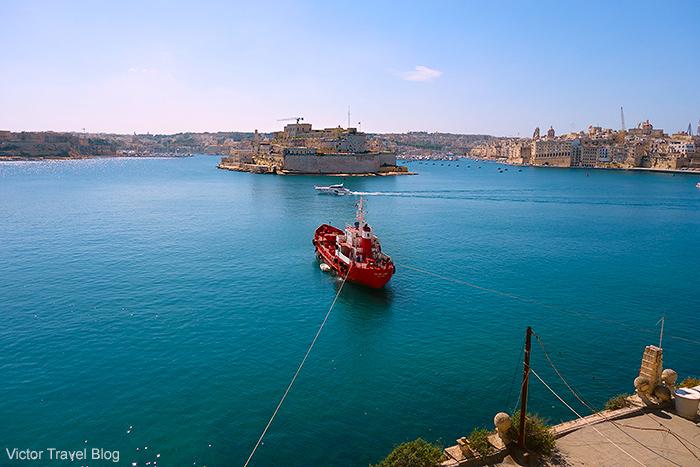 Fort St. Angelo. Malta.