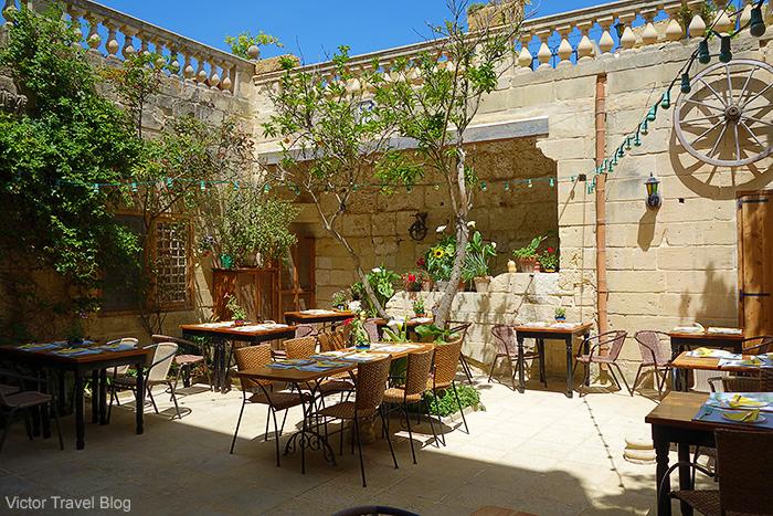 Restaurant Ciappetti. Mdina, Malta.