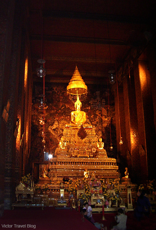 The Royal Palace and Temples of Bangkok. The Kingdom of Thailand.