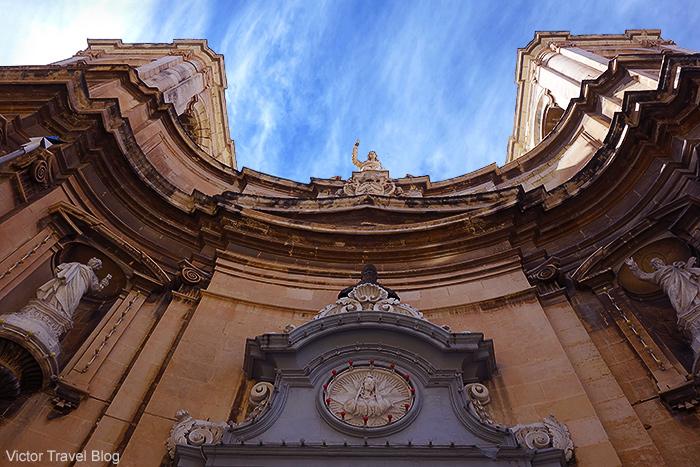 Santa Maria Di Porto Salvo, Valletta, Malta.