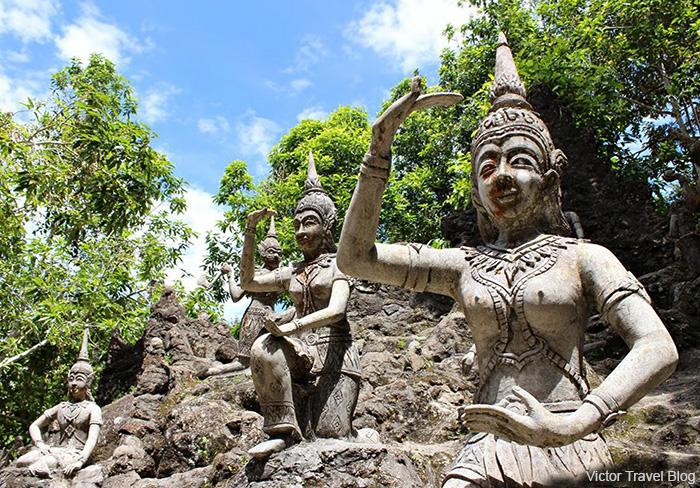 The Secret Buddha Garden. Koh Samui. Thailand.