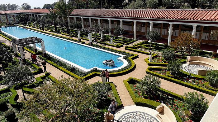 Villa Getty. Malibu, USA.