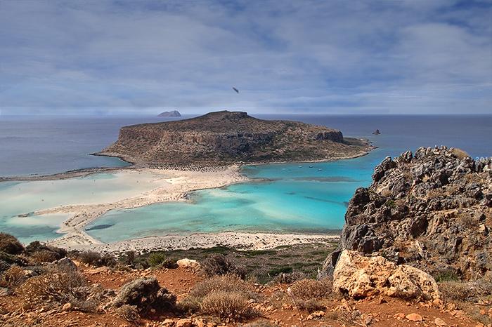 Balos. Crete, Greece.