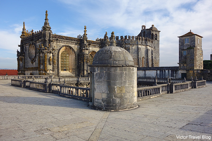 The Convent of the Order of Christ. Tomar, Portugal.