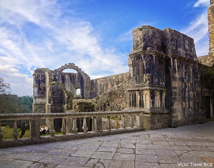 The chapter house of the Convent of the Order of Christ. Tomar, Portugal.