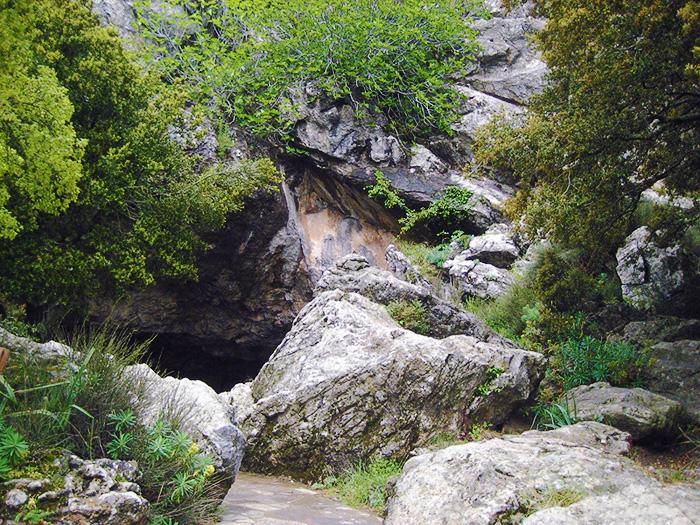 Cave where Zeus was born. Crete, Greece.