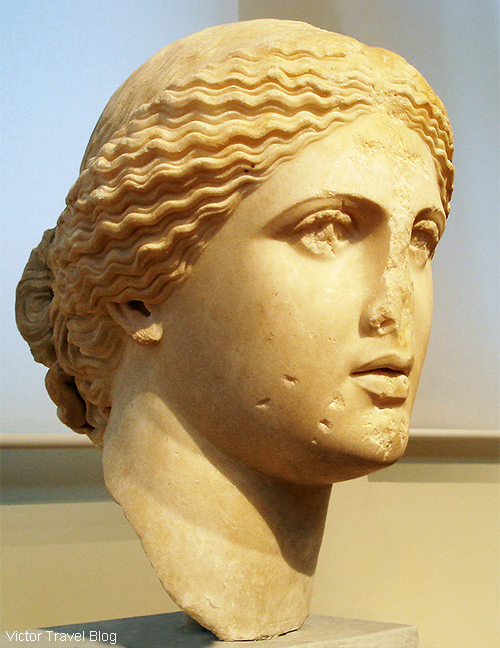 Ancient Greek sculpture. The National Archaeological Museum of Athens. Greece.