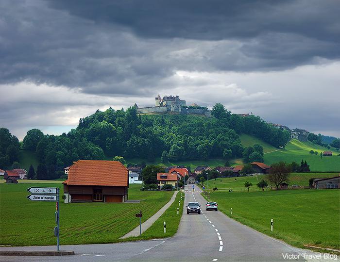 Gruyeres Castle. Switzerland.
