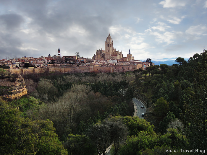 The city of Segovia. Spain.