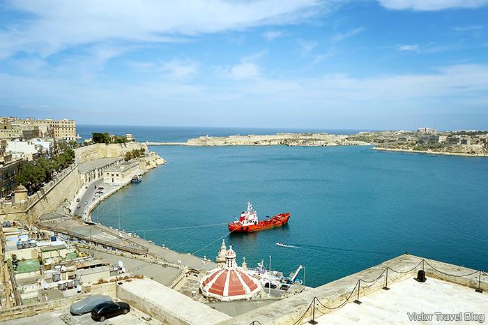 The Grand Harbour. Valletta, Malta.