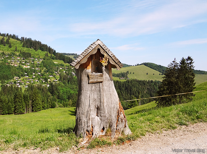 Somewhere in Switzerland.