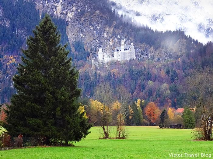 Neuschwanstein Castle. Bavaria, Germany.