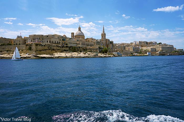 Valletta, the capital of Malta.