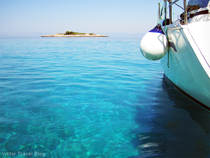 Somewhere in the Adriatic Sea, Croatia.