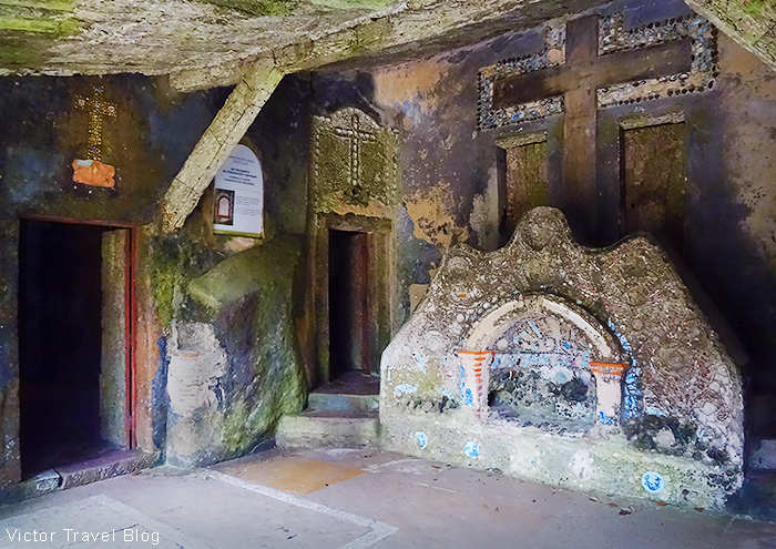 Chapel of Our Lord in Gethsemane. Convent of the Capuchos. Sintra, Portugal.