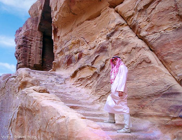 Nabataeans Petra in Jordan.