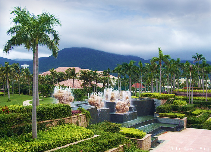 Sanya Marriott Resort & Spa. Hainan Island, China.