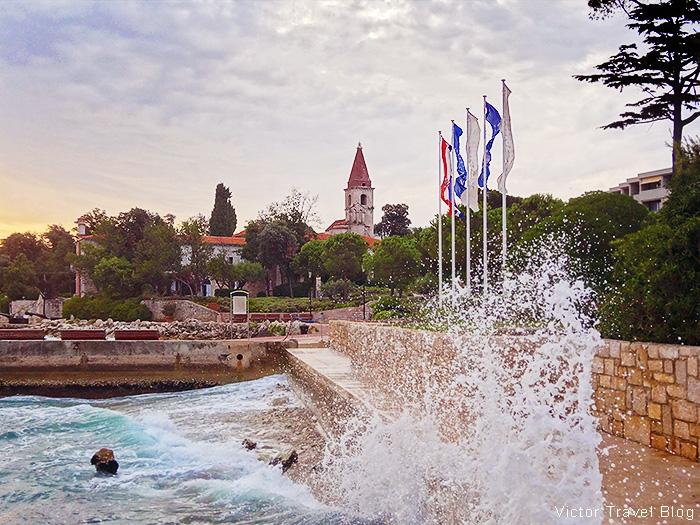 The Island of St. Andrew. The Adriatic Sea, Rovinj, Croatia.