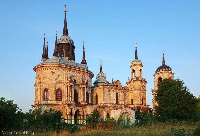 Bazhenov's Church of Our Lady of Vladimir in Bykovo, Russia.