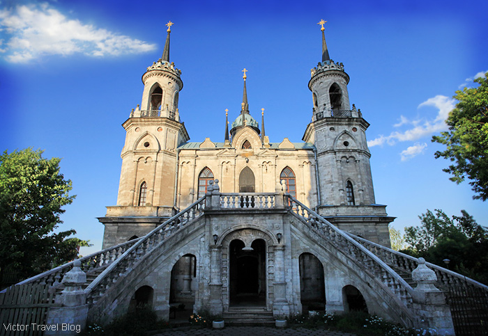 Bazhenov's Church of Our Lady of Vladimir in Bykovo, Russia.