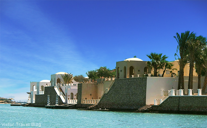 El Gouna resort, Egypt, Red Sea.