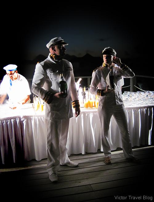 Captain's party. The Robinson Club Maldives.