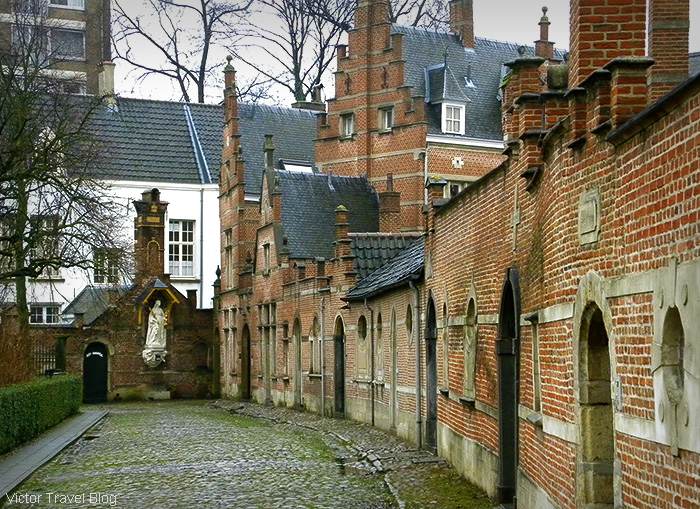Antwerp Beguinage. Belgium.