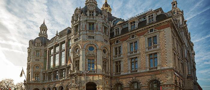 Antwerp Central Station. Belgium.
