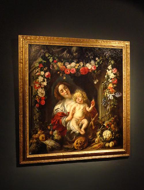 Paintings in the Rubens House. Wapper 9/11, Antwerp, Belgium.