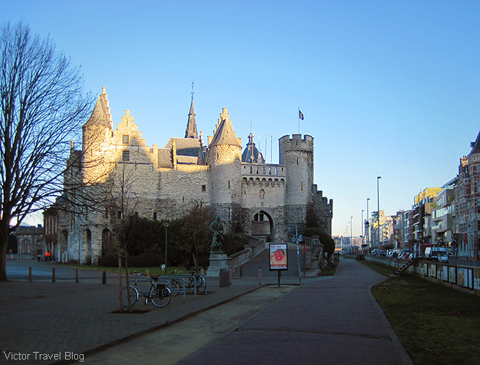 Steen Castle. Antwerp. Belgium.
