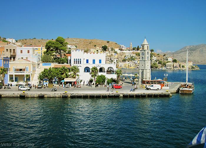 The island of Symi. Greece.