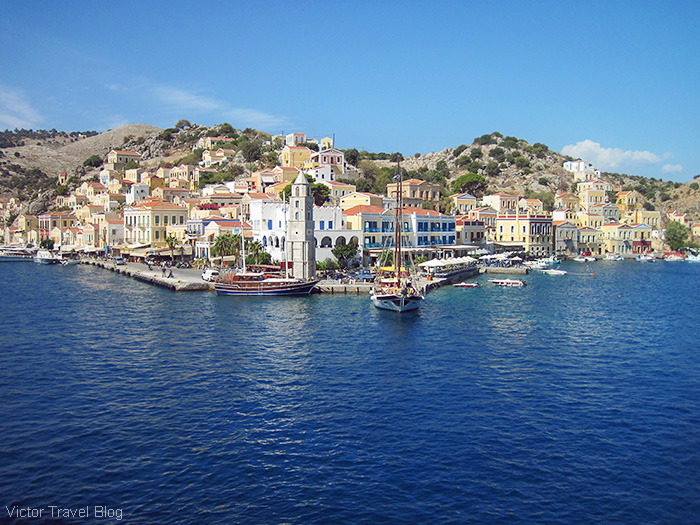 The island of Symi. Greece.
