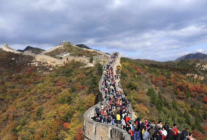 Badaling Great Wall, China.
