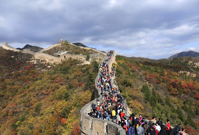 Badaling Great Wall, China.