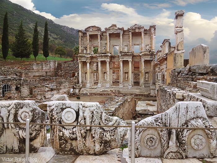 Library of Celsus. Ancient Ephesus, Turkey.