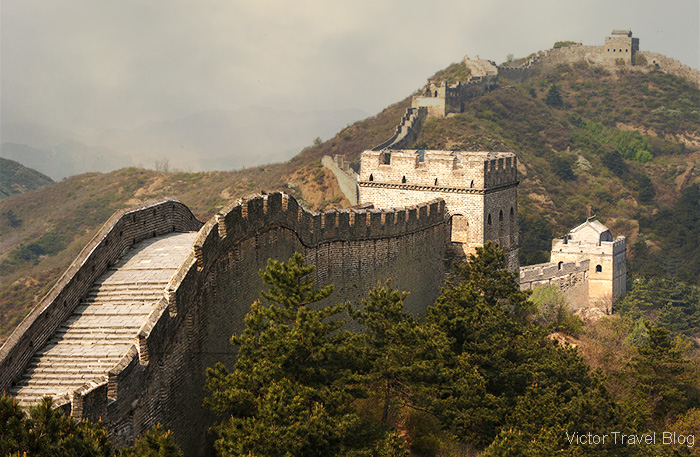 Jinshanling Great Wall, China.