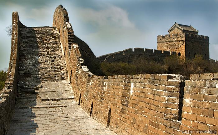 Jinshanling Great Wall, China.