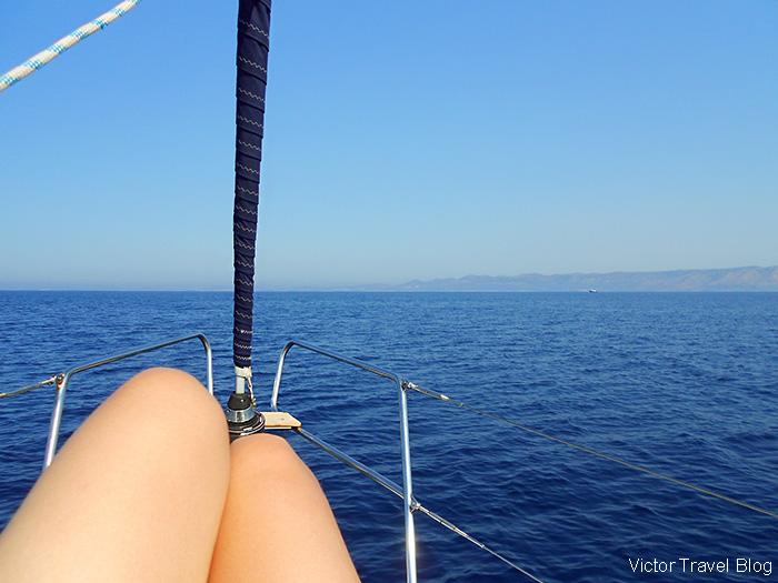 Sailing in Turkey.