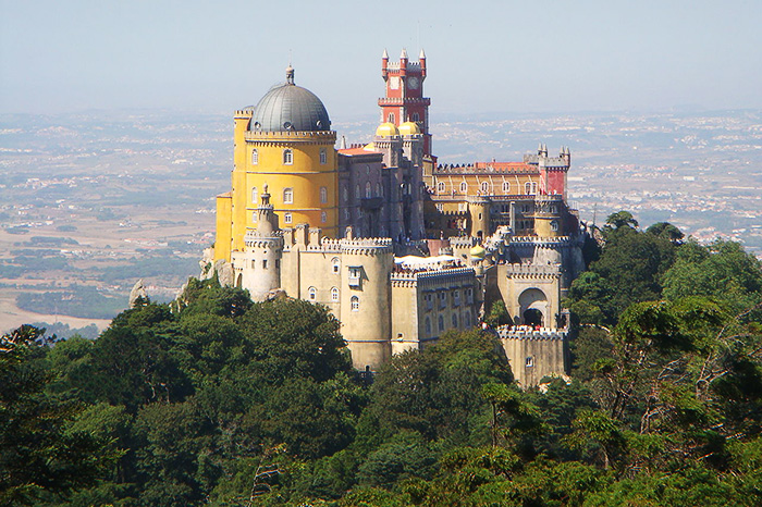 Pena National Palace. Sintra, Portugal.