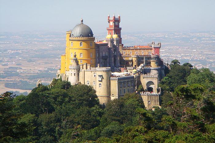 Pena National Palace. Sintra, Portugal.