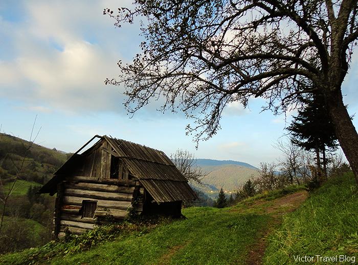 Landscape of Bosnia.